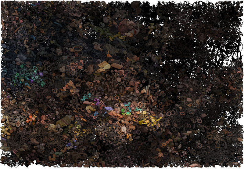 100 x 140 cm 2013 - click image to see details