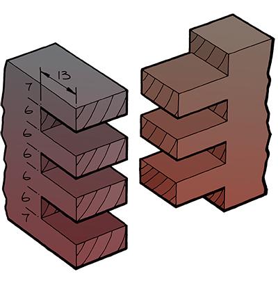 houtblokje